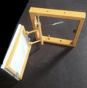 ревизионный нажимной люк под плитку