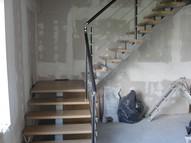 лестница с площадкой перила нержавеющая сталь